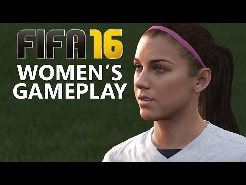Fifa 16 WOMEN'S GAMEPLAY - USA vs GERMANY (No Commentary) FIFA 16 DEMO