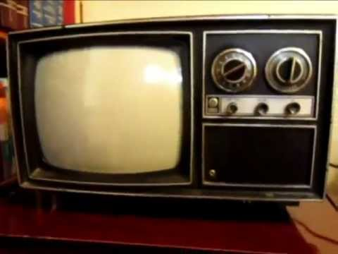 1975 Ge Porta Color Tube Type Tv Model  Wahe5223rw Chassis