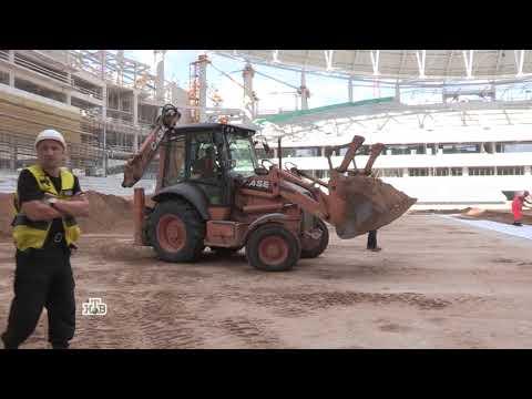 Сюжет в программе Деловое утро на НТВ о строительстве Центрального стадиона Динамо им. Льва Яшина
