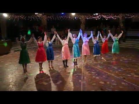 Чувашский народный танец на дискотеке