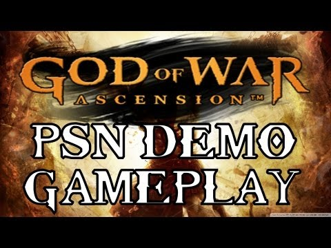 God of War Ascension - PSN Demo Gameplay - HD 3D