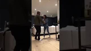 heath hussar and mariah amato dancing