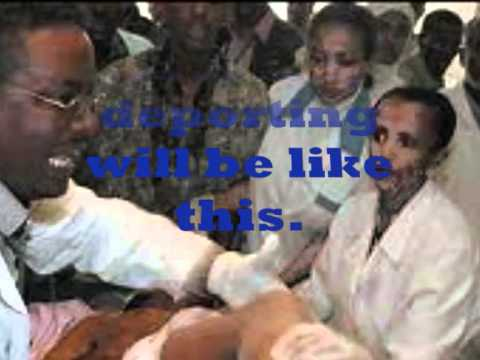March 09/2012's Protest by Ethiopians in front of Norwegian Embassy to Sweden.