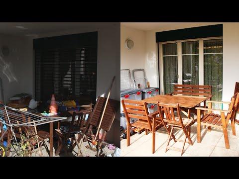 Organisieren Und Aufräumen | Vorher - Nachher: Terrasse