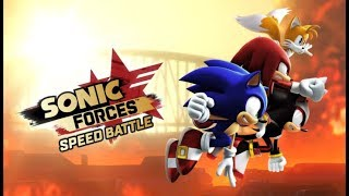 Chơi Sonic Forces Speed Battle chạy đua lụm vàng cu lỳ chơi game vui nhộn lồng tiếng