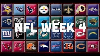 NFL Week 4 Picks & Predictions 2018 | 2019