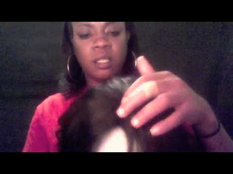 YES ONE HAIR(EGYPTIAN WAVE) 3:4 WIG!!! sewn down INVISIBLE PART