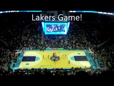 Daily Vlog - Lakers Basketball Game!