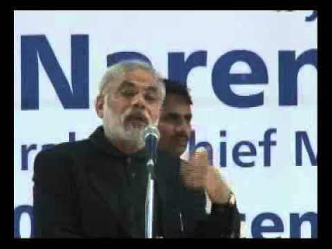 Shri Modi launches Asia's first ever - Gujarat Solar Park.flv