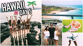 Drone Accident, Hanging W/ Locals, & Kayaking! - HAWAII DAY 5
