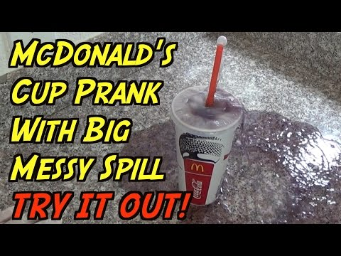 Ultimate McDonald's Prank- HOW TO PRANK (Evil Booby Traps)