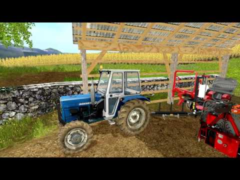 UTH17 - Baling round silage bales in south-east Slovenia
