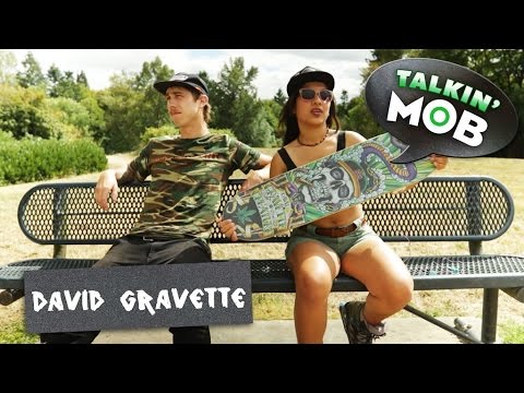 David Gravette: Hippy Skull Graphic MOB Grip | Pre-Roll