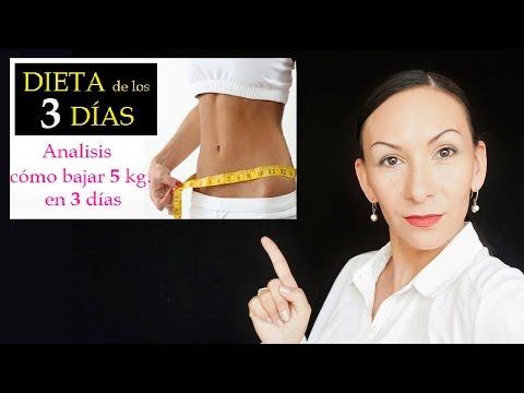 DIETA De Los 3 DÍAS, BAJA HASTA 5 KILOS  / ANÁLISIS / Nayla Lozada