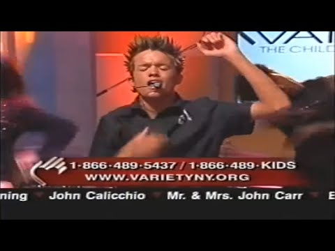 Chris Trousdale Telethon Pt1 Love's Gonna Getcha 2003 video