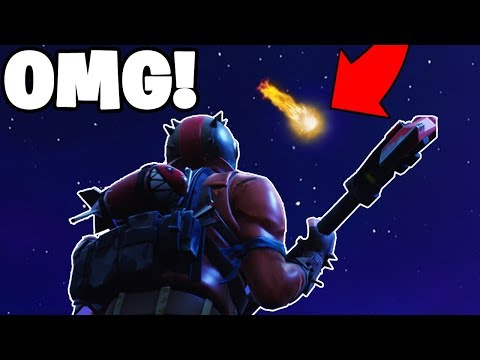 HOW TO SEE FALLING METEOR in Fortnite! (NEW METEOR SHOWER)