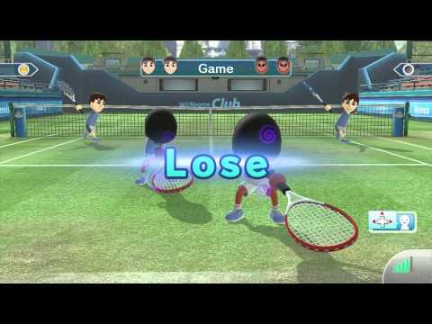 Wii Sports Club - Online Tennis