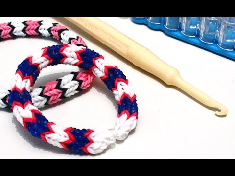 tuto bracelet lastique quadrafish rainbow loom en fran ais youtube. Black Bedroom Furniture Sets. Home Design Ideas