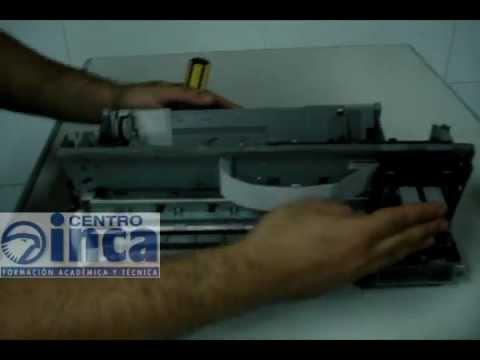 Como Armar y desarmar una impresora Canon Pixma IP 1000