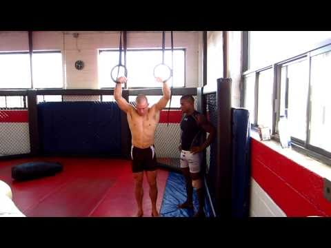 Georges St-Pierre (GSP) Training for UFC 129 - Rings Image 1