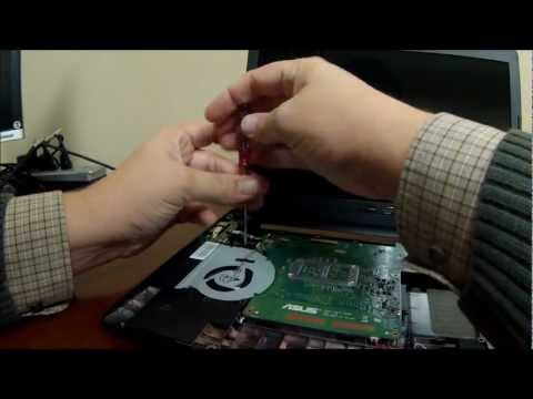 $250 Best Buy Doorbuster Laptop Upgrade DIY - Asus X401A-BHPDN