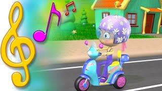 TuTiTu Songs | Scooter Song | Songs for Children with Lyrics