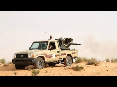 Libyan clashes near a military base West of Tripoli