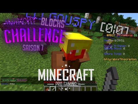 UN TOURNOI EPIQUE ENTRE YOUTUBERS ! - Minecraft PVP - Anarchy Block Challenge avec Frodo_
