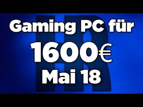 1600€ Gaming PC Mai 2018 | Intel+ GTX 1080 | Computer günstig kaufen