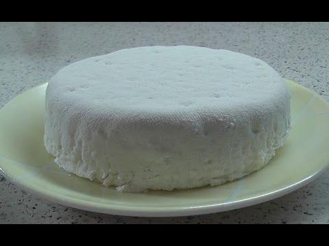 Как приготовить сыр из молока - видео