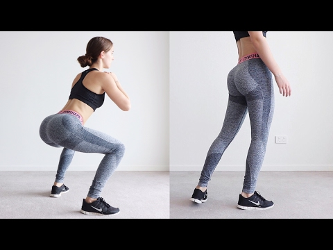 EASY BOOTY WORKOUT You Can Do Anywhere | Shape & Tone (equipment free) thumbnail