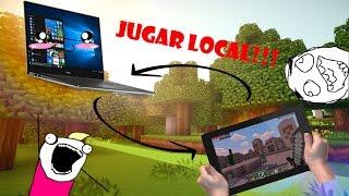 Como Jugar Local/Online Minecraft windows 10 edition con Minecraft Pe