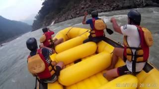 River rafting accident rishikesh