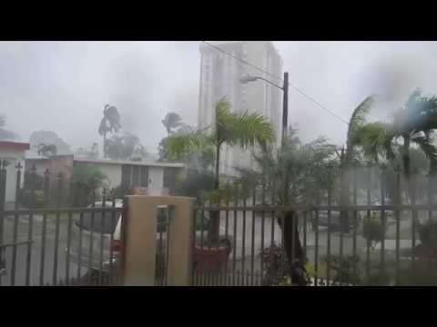 Tropical Storm Bertha Aug 2, 2014 Puerto Rico