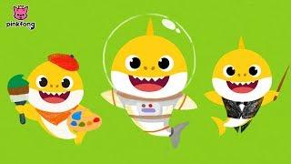 Baby Shark Jobs Kids Dance Songs | Sing and Dance! Songs For Children