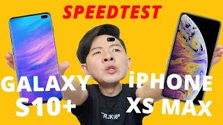 SO SÁNH HIÊU NĂNG GALAXY S10+ VS iPHONE XS MAX: EXYNOS 9820 VS A12 BIONIC???