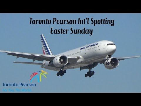 Toronto Pearson Int'l Easter Sunday Spotting March 27, 2016