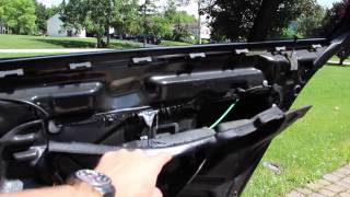 BMW E39 - Wet Rear Carpeting?  Vapor Barrier Seal DIY