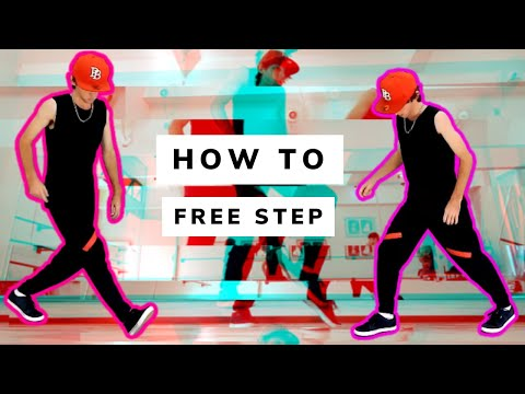 Tutorial Free Step Dance - Basic & Advanced [diih Ferreira ] video