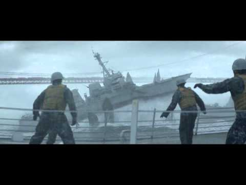 Godzilla (2014) - Attack At Pacific Ocean Scene [hd] video