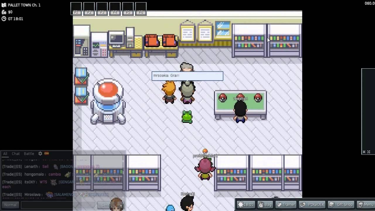 Pokemon Online 2014 Pc Pokemmo Eu Youtube