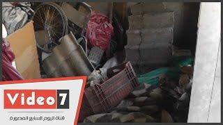 بالفيديو.. شاهد الإهمال يضرب مستشفى الحسين الجامعى