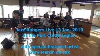 Jazz Rangers & Gary Martin sampler Port Credit Legion 20190113