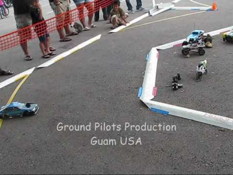 RC Guam Salavation Army Toy Drive drift part 2