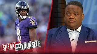 John Harbaugh's plan is proof he's given up on Lamar Jackson — Whitlock | NFL | SPEAK FOR YOURSELF