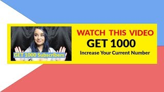 Make Money On YouTube Subscriber Bonus Bethany Meyer Get 1000