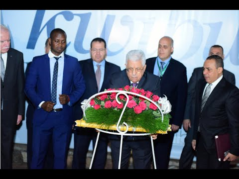 MAHMOUD ABBAS PAYS HOMAGE TO RWANDA GENOCIDE VICTIMS