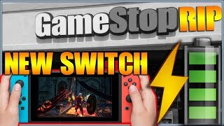 New Nintendo Switch 2019 Better Battery Life - New GameStop Stores Opening Up is this the End