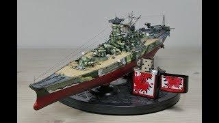 Painting 1/700 IJN Yamato WoWS Camouflage