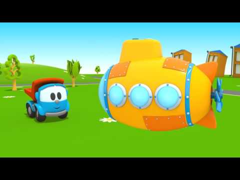 Leo Junior yeni arkadaş buluyor  -  Eğitici çizgi film! Türkçe izle